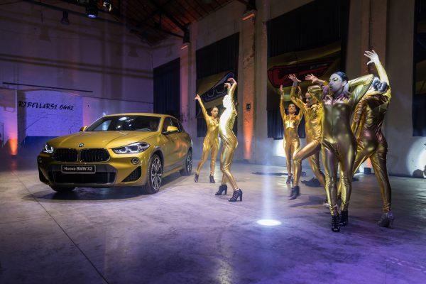 Evento di lancio della nuova BMW X2
