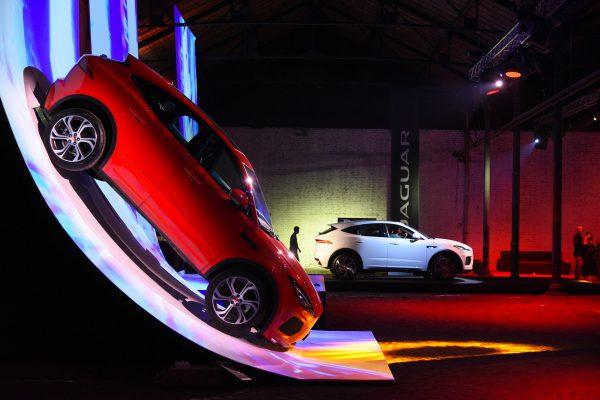 Jaguar – evento di lancio di E-PACE