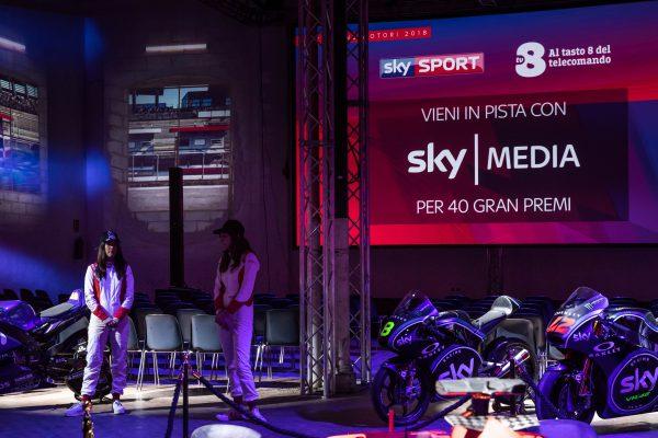 Sky Sport e TV8 Presentazione dei palinsesti della stagione motori